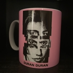 Duran Duran - Split Face Design Mug (back cover)