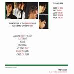 Duran Duran - Amsterdam 1981 (back cover)