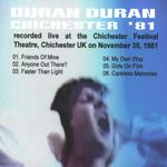 Duran Duran - Chichester Festival Theatre (back cover)