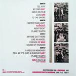 Duran Duran - A Crack In The Ocean 2LP (back cover)