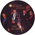 Duran Duran - Live At Odeon LP (cover)