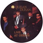 Duran Duran - Live At Odeon LP (cover)