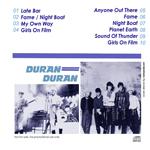 Duran Duran - Paradiso Club (back cover)