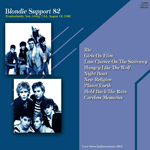 Duran Duran - Blondie Support (back cover)