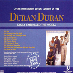 Duran Duran - Easily Embraced The World (back cover)