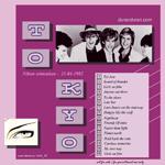 Duran Duran - Live In Japan (back cover)