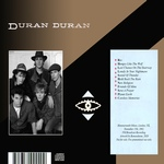 Duran Duran - Live At Hammersmith Odeon (back cover)