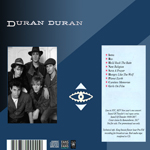 Duran Duran - MTV New Year´s Eve (back cover)