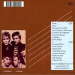 Duran Duran - Birmingham Odeon (back cover)