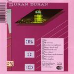 Duran Duran - Rio (back cover)