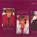 Duran Duran - Rio World Tour 1982 (back cover)