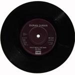 "Duran Duran - Save A Prayer 7"" (back cover)"