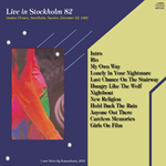 Duran Duran - Live In Stockholm (back cover)