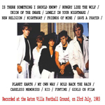 Duran Duran - Football Ground (back cover)