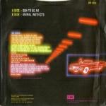 Kajagoogoo - Ooh To Be Ah (back cover)