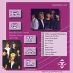 Duran Duran - Prince´s Trust Royal Rock Gala (back cover)