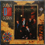 Duran Duran - Seven And The Ragged Tiger LP (cover)