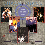 Duran Duran - Two For The Show (back cover)