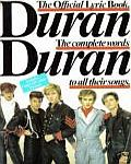 Duran Duran - The Official Lyric Book (cover)