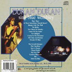 Duran Duran - Sing Blue Wembley (back cover)