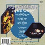 Duran Duran - Sing Blue Wembley (back cover)