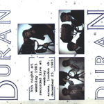Duran Duran - 5th Night At Wembley 1983 (back cover)