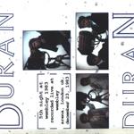 Duran Duran - 5th Night At Wembley 1983 (back cover)