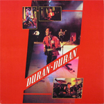 Duran Duran - Live In America LP (cover)