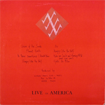 Duran Duran - Live In America LP (back cover)