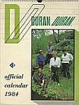 Duran Duran - Calendar 1984 (cover)