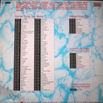 """Duran Duran - Interview Picture Disc 12"""" (back cover)"""