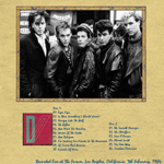 Duran Duran - The Forum Los Angeles (back cover)