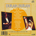 Duran Duran - Sing Blue Madison (back cover)