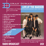 Duran Duran - Live At The Madison (back cover)