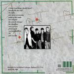 Duran Duran - Oakland Coliseum (back cover)