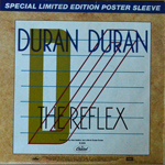 "Duran Duran - The Reflex 7"" (back cover)"