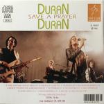 Duran Duran - Save A Prayer (back cover)
