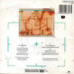 "Duran Duran - The Wild Boys 7"" (back cover)"