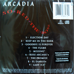 Arcadia - So Red The Rose (back cover)