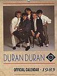 Duran Duran - Calendar 1985 (cover)