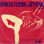 "Power Station - Get It On 7"" (back cover)"