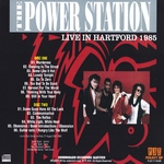 Power Station - Live In Hartford 1985 (back cover)