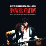 Power Station - Live In Hartford 1985 LP (cover)