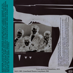 Power Station - Jones Beach Amphitheatre (back cover)