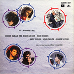 "Duran Duran - A View To A Kill 7"" (back cover)"