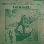 Duran Duran - A View To A Kill LP (cover)
