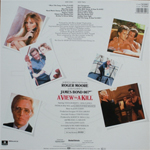 Duran Duran - A View To A Kill LP (back cover)