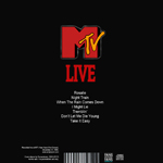 Andy Taylor - MTV Live (back cover)