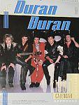 Duran Duran - Calendar 1986 (cover)