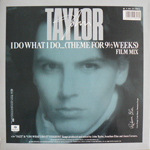 "John Taylor - I Do What I Do 12"" (back cover)"